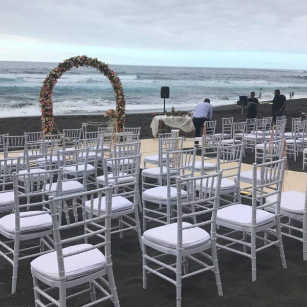 Ceremonia en la playa