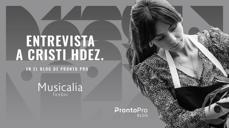 Entrevista a Cristi Hernández